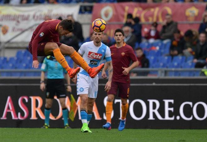 Probabili formazioni Roma Napoli, Serie A (Foto LaPresse)