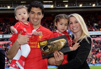 Luis Suarez, 27 anni, dal 2011 al Liverpool: 82 gol in 133 partite