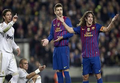 Questa sera nuovo capitolo della sfida Barcellona-Real Madrid (Infophoto)
