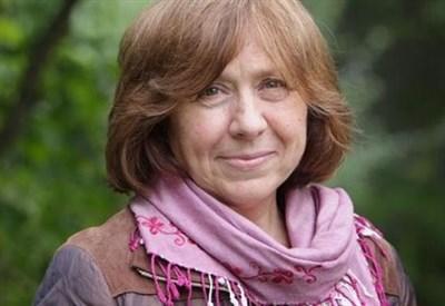 Svetlana Aleksievic, premio Nobel 2015 per la letteratura (Immagine dal web)
