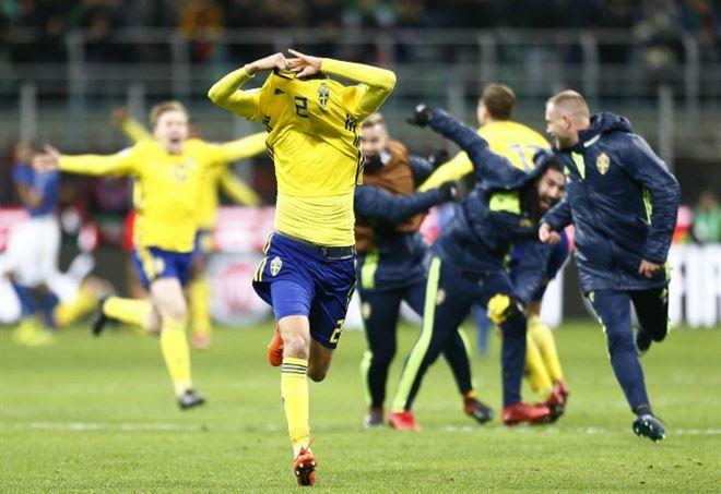 La Svezia è qualificata ai Mondiali 2018 (Foto LaPresse)