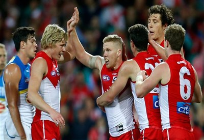 I Sydney Swans, una delle squadre qualificate (dall'account facebook.com/sydneyswans)