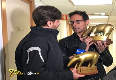 'Striscia La Notizia', Tapiro D'Oro per Gabriel Garko!