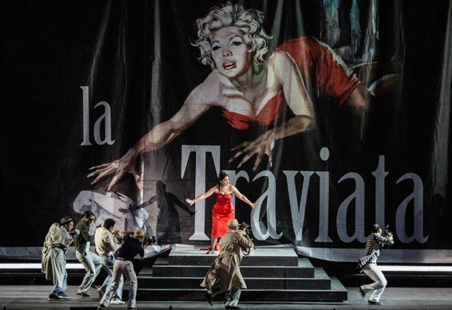 La traviata, Kristina Mkhitaryan (Violetta) ph Yasuko Kageyama-Caracalla 2018