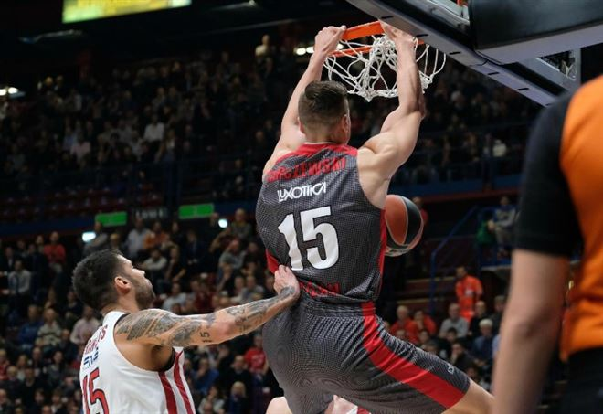 Diretta Olimpia Milano Khimki, basket Eurolega (Foto LaPresse)