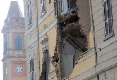 Terremoto in Emilia (Infophoto)