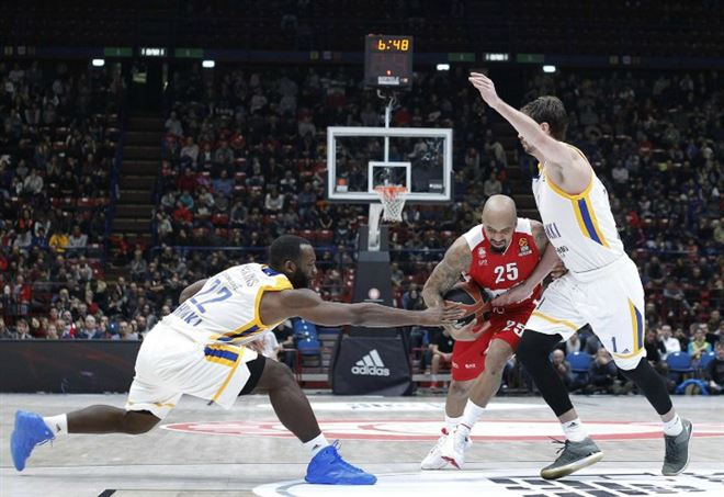Diretta Khimki Olimpia Milano, basket Eurolega (Foto LaPresse)