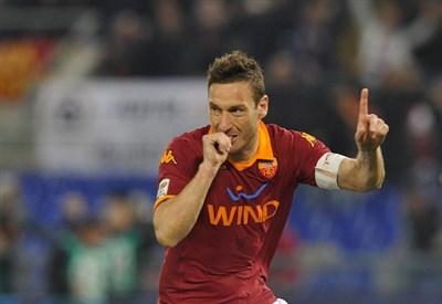 Francesco Totti, capitano Roma (Infophoto)