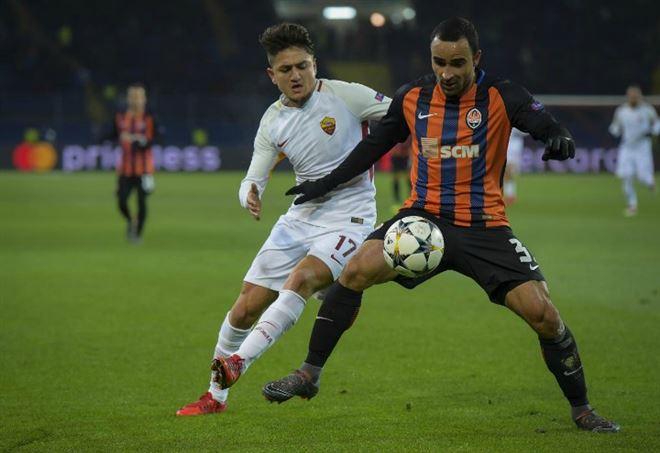 Probabili formazioni Roma Shakhtar Donetsk, Champions League (Foto LaPresse)