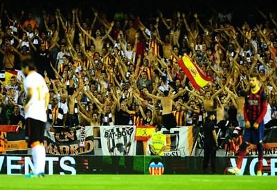 Tifosi del Valencia (Infophoto)