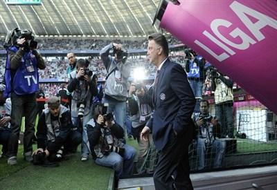Louis Van Gaal, 62 anni, allenatore del Manchester United (Infophoto)