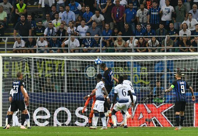 Vecino gol, polemica sulla telecronaca Sky (foto LaPresse)