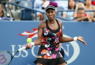 Venus Williams, 34 anni (Infophoto)
