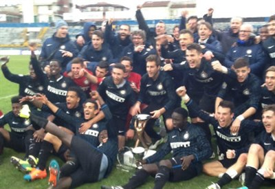 L'Inter Primavera ha vinto il Torneo di Viareggio (da facebook.com/Viareggio-Cup)