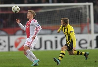 Viktor Fischer, esterno offensivo danese (Infophoto)