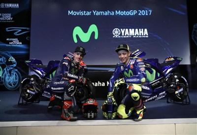 La presentazione della Yamaha (LaPresse)