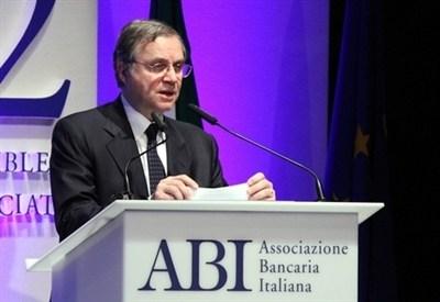 Ignazio Visco, Governatore della Banca d'Italia (Infophoto)