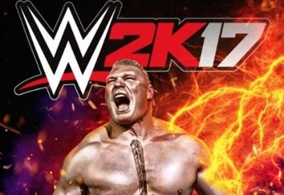 WWE 2K17, Brock Lesnar in copertina