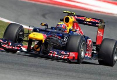 Mark Webber in azione (Infophoto)