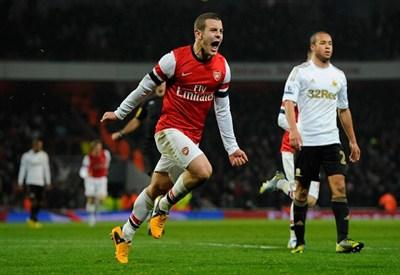 Jack Wilshere, 21 anni: è cresciuto nell'Arsenal (Infophoto)