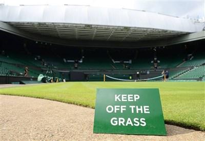 Giorno di riposo per l'erba di Wimbledon