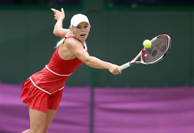 Caroline Wozniacki, 23 anni, attuale numero 16 del ranking WTA (Infophoto)