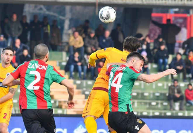 Video Ascoli Ternana (LaPresse)