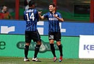 Mauro Zarate, attaccante ex Inter (Foto Infophoto)