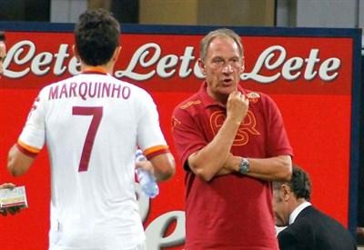 Zdenek Zeman, allenatore della Roma (Infophoto)