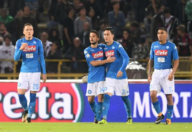 Video Shakhtar Napoli 2-1, Champions League (Foto LaPresse)