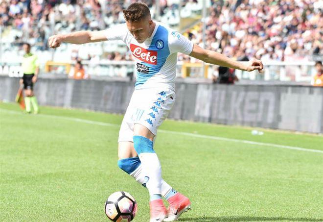 Zielinski, centrocampista Napoli - LaPresse