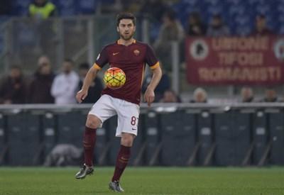 Zukanovic con la maglia della Roma