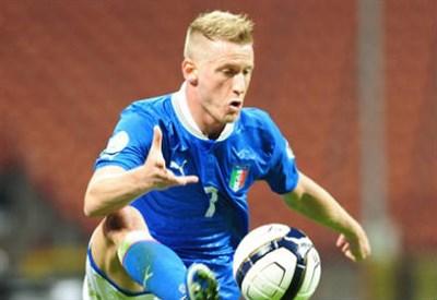 Ignazio Abate, 26 anni, terzino destro del Milan (INFOPHOTO)