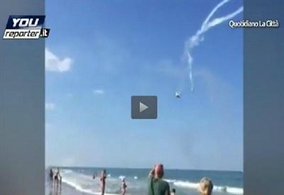 L'incidente aereo ad Alba Adriatica