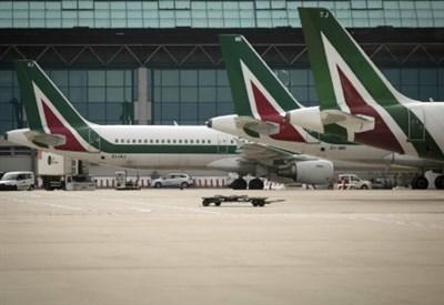 Sciopero Alitalia (Foto: LaPresse)