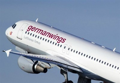 Un Airbus A320 della Germanwings (Immagine dal web)