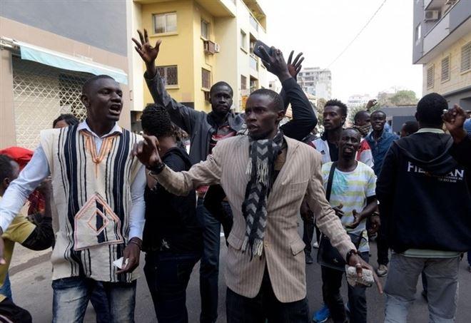 Proteste antigovernative a Dakar, in Senegal (LaPresse)