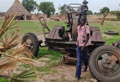 Sud Sudan (Immagine d'archivio)
