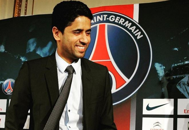 Al Khelaifi, patron PSG - Instagram