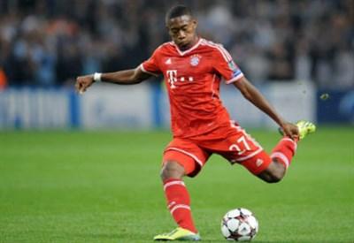 David Alaba, 21 anni, terzino austriaco del Bayern Monaco (Foto Infophoto)