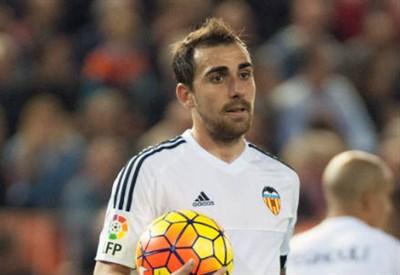 Paco Alcacer, 22 anni, attaccante del Valencia (INFOPHOTO)
