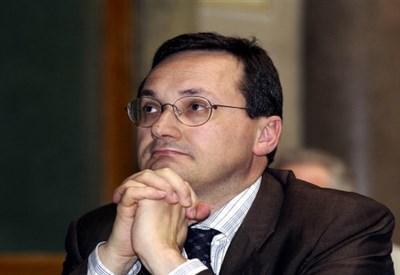 Il leader del Credito Cooperativo, Alessandro Azzi