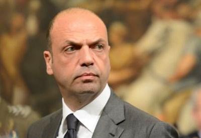 Angelino Alfano, ministro dell'Interno (Infophoto)