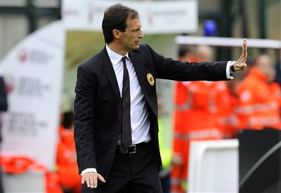 Allegri, all. Milan (Infophoto)