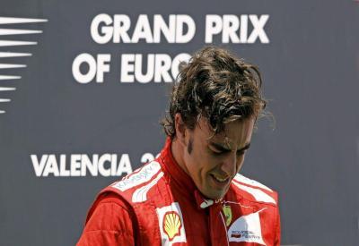 Fernando Alonso oggi corre a Spa: Gran Premio del Belgio (Infophoto)