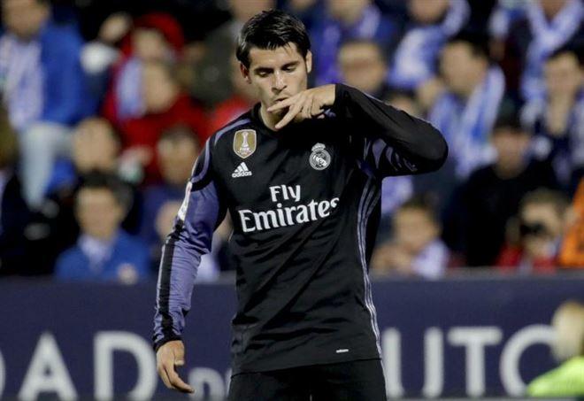 Alvaro Morata, Real Madrid - LaPresse