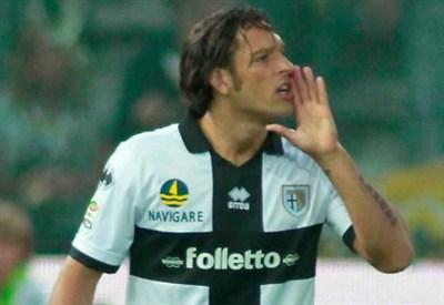 L'attaccante del Parma Amauri (Infophoto)
