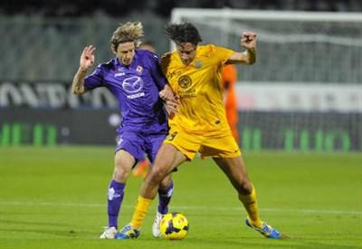 Luca Toni, 9 gol in campionato (Infophoto)