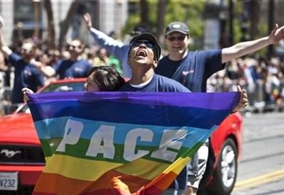 Manifestazione LGBT a San Francisco (InfoPhoto)