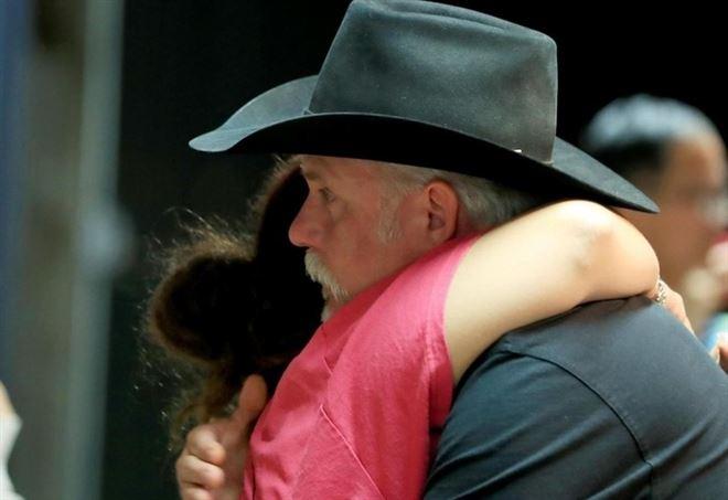 Dopo la sparatoria di Parkland, Florida (LaPresse)
